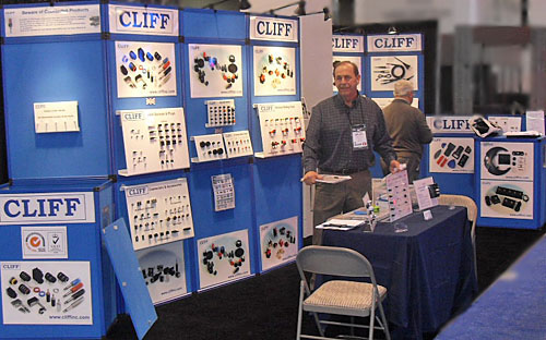 Cliff exhibiting