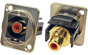 metal feedthrough connector